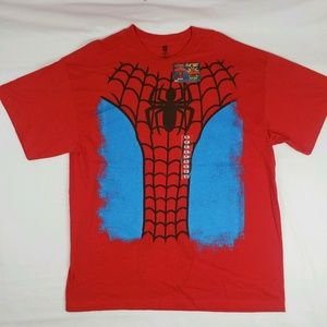 Marvel Amazing Spider-Man T Shirt Top Flip Out Top